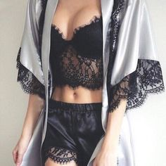 These are the 10 best sites for sexy and cheap lingerie! Buy Plus Size Sexy Nightwear and Women Sexy Mini Nightgowns at fashion cornerstone. Sexy Lingerie for the perfect occasion. Lingerie Satin, Lingerie Look, Cheap Lingerie, Jolie Lingerie, Pretty Lingerie, Beautiful Lingerie, Lingerie Sleepwear, Nightwear, Black Lingerie