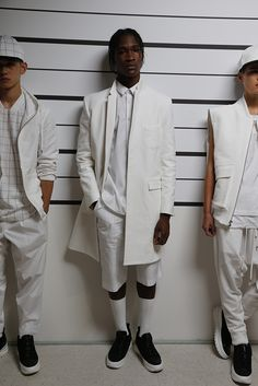 With more than 60 shows and presentations, the inaugural New York Fashion Week: Men's offered up new trends, from bodysuits and light trenchcoats to retro culottes. [Photo: George Chinsee]