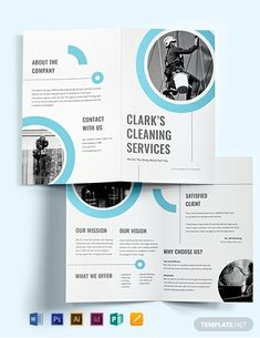 Cleaning Contract Template - Word (DOC) | Google Docs | Apple (MAC) Pages | Template.net Cleaning Contracts, Cleaning Companies, Cleaning Services, Bi Fold Brochure, Brochure Design, Brochure Template, Microsoft Publisher, Microsoft Word, Company Brochure
