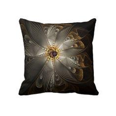 Silver Fantasy Pillows / Decor: art cushions, pillows