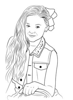 jojo siwa coloring pages printable Jojo Siwa Coloring Pages | Preschool in 2019 | Jojo siwa, Coloring  jojo siwa coloring pages printable