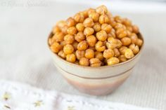 Crispy Oven Roasted Chickpeas Recipe