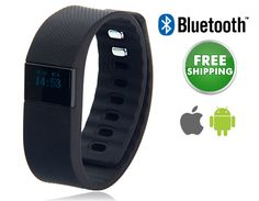 Fitness Tracking Bluetooth Smartwatch, Pedometer & Calorie Counter