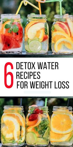 6 Detox Water Recipes to Get Gorgeous and Clear Skin
