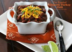 Today on Parade - Fire Roasted Chipotle Turkey Chili