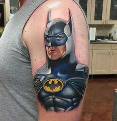Miraculous Batman Tattoo