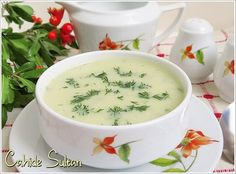 Dere Herb Pumpkin Soup - Dill pumpkin soup Best Picture For healthy recipes For Your Taste You are looking for something, - Seafood Soup, Seafood Appetizers, Seafood Dishes, Seafood Recipes, Wine Recipes, Soup Recipes, Yummy Recipes, Vegetarian Recipes, Turkish Recipes