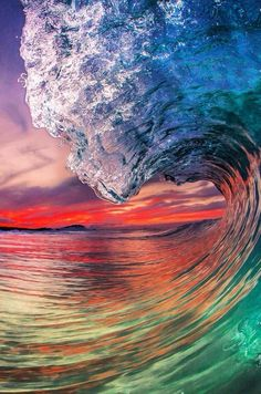 Share with me the Love of the Ocean Beach Surf Catch a Wave Barrel Big waves Ocean Pictures, Nature Pictures, Pretty Pictures, Waves Photography, Nature Photography, Art Sur Toile, Ocean Wallpaper, Wave Art, Sea And Ocean