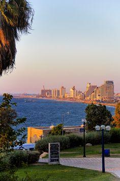 Israel Forever Tel Aviv looking from Jaffa