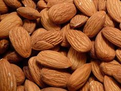 Amazing Health Benefits of Almonds Amazing Health Benefits of Almonds Almond is a nut which is very healthy and nutritious for you. It is a good source of dietary fiber, protein, vitamins, minerals, healthy fats and antioxidants. Health Benefits Of Almonds, Almond Benefits, Make Almond Milk, Almond Nut, Raw Almonds, Roasted Almonds, Gain Weight Fast, Weight Loss, California Almonds