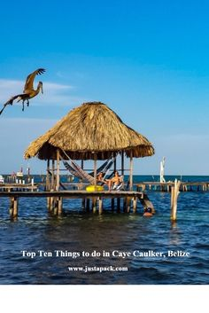 "Top Ten Free & Cheap Things to Do in Caye Caulker, Belize:  Caye Caulker is a tranquil paradise in the Caribbean. The vibe on this rustic island is completely laid back and relaxed in true ""island life"" fashion. Visitors spend their days lounging around, taking in the golden sun and the azure waters, or partaking in the wide selection of water based sports activities. Here are our top picks of things to do. By Just a Pack"