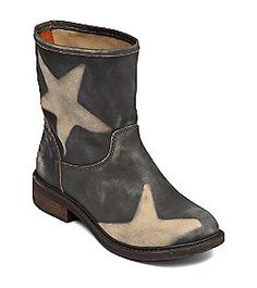"Product: Lucky Brand® ""Nitroh"" Casual Boot with Star Detail - Dark Olive"