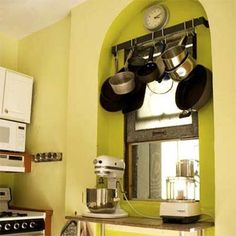 organizing tiny kitchens | organizing a small kitchen | For the Home
