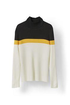 Williams Rollneck, Gold Fusion Stripe