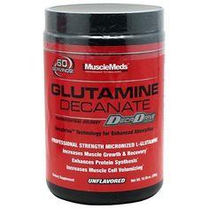 Muscle Meds Glutamine Decanate - Unflavored - 10.58 oz (300g)