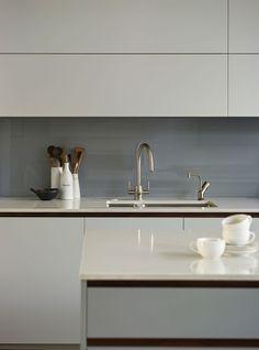 grey kitchen splashback - Google Search