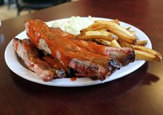 BBQ Ribs from Crosstown Barbeque in Springfield, Missouri