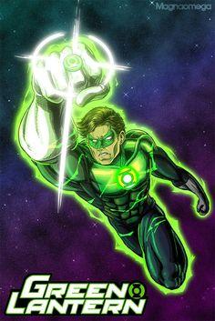 Green Lantern Hal Jordan by Magna-omega
