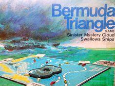 Milton Bradley Bermuda Triangle Game