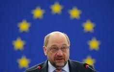 European Parliament President Martin Schulz presides a debate on the outcome of…