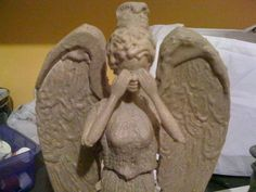 Tutorial to make your own weeping angel statue from a Barbie doll.  Now, I need to get a mannequin so I can make a life-sized one to put by my door for Halloween...