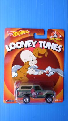 2014 Hot Wheels Tooney Tunes 85 Ford Bronco Real Riders