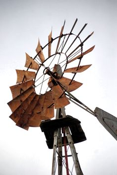 I think I like Windmills because of how they stand strong through all kinds of weather. Capture the same look with our Windmill Chandelier Rustic Lighting Fixture by The Lamp Goods Farm Windmill, Old Windmills, Country Scenes, Funny Tattoos, Old Farm, Woodworking Projects Plans, Farm Life, Art And Architecture, Wind Mills
