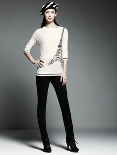 add227f3eaf Catherine Malandrino for DesigNation exclusively at Kohl s lookbook images  Sweater Outfits