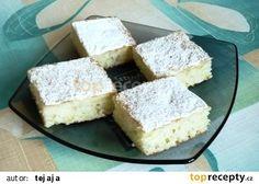 Buchta z cukety recept - TopRecepty.cz 20 Min, Cornbread, Vanilla Cake, Dairy, Cheese, Ethnic Recipes, Food, Recipes, Meal