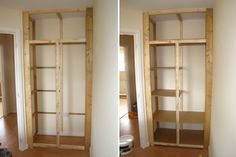 DIY  Construct your own storage space!