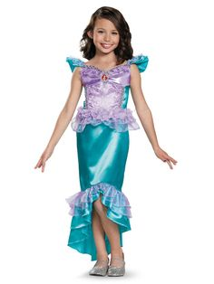 disneys the little mermaid ariel classic girls costume