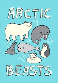 It should be noted that Penguins are Antarctic beasts, not arctic beasts. Doodle Drawings, Cute Drawings, Artic Animals, Kawaii Illustration, Princess Drawings, Character Wallpaper, Kawaii Cute, Disney Drawings, T 4