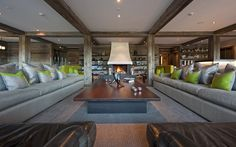 The Lodge Verbier Richard Branson Virgin Property  £fifty-five K per wee'k