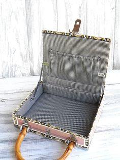 Vintage cigar box purse with bamboo handle by BelleAdoraVintage, $15.00
