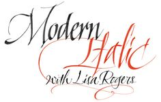 modern italic calligraphy