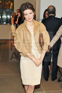 Nora Zehetner.  Wren Fall 12 cropped wool coat.