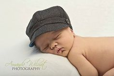 Fall Autumn Newsboy Cap Upcycled Baby Toddler by BulaJeansBoutique, $25.00