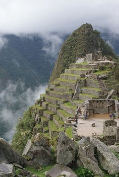 The majestic Macchu Picchu in Peru. This has to be on your bucket list!