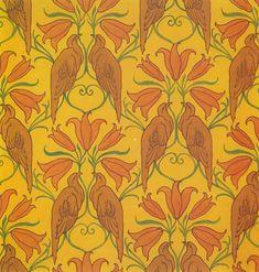 C.F.A. Voysey Wallpaper design - Arts & Crafts Home