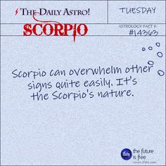 Daily Astro: Scorpio . http://ifate.com