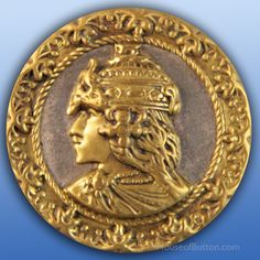 """Theodora – 19th C. Button March 7, 2016  This version of Theodora is pictured in Couse and Maple's """"Button Classics"""", PL 51."""