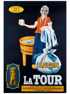 Savon la Tour Giclee Print - at AllPosters.com.au