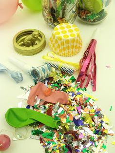 Party Jar Contents!
