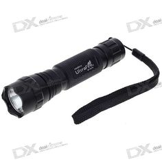 UltraFire WF-501B 320-Lumen LED Flashlight w/ Cree XPG-WCR5 / Strap (1*18650/2*16340). Note: We are currently unable to ship to addresses in HongKong, mainland of China. Brand: UltraFire Model: WF-501B Emitter Brand/Type: Cree Emitter BIN: XPG-WCR5 Color BIN: Cool White Total Emitters: 1 Battery Configurations: 1 x 18650 / 2 x 16340 rechargeable battery Voltage Input: 3.3~18V, 18V max Switch Type: Clicky/Clickie Switch Location: Tail-cap Modes: 1 Mode Memory: - Mode Arrangement: - Circuitry…