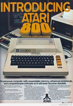 Originally the successor to the 2600, the 400 and 800 computers were definitely the next-generation gaming platform in 1979.