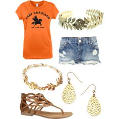 My Demigod Outfit: Percy Jackson Style