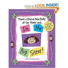 There's a Brand-New Baby at Our House and . . . I'm the Big Sister!: Susan Ligon: 9781400309665: Amazon.com: Books