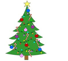 How to Draw a Cartoon Christmas Tree - How to Draw Cartoons Cartoon Christmas Tree, Christmas Tree Drawing, Little Christmas Trees, Very Merry Christmas, A Christmas Story, Kids Christmas, Primary Songs, Primary Singing Time, Lds Primary