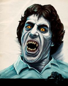 Horror illustrator Gary Pullin creates of movie posters and magazine covers and monsters. In this interview, he talks horror classics and art direction. Dracula, American Werewolf In London, Horror Artwork, Horror Icons, Horror Comics, Horror Films, Famous Monsters, Classic Horror Movies, Classic Monsters