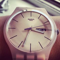 ROSE REBEL http://swat.ch/Rose_Rebel #Swatch